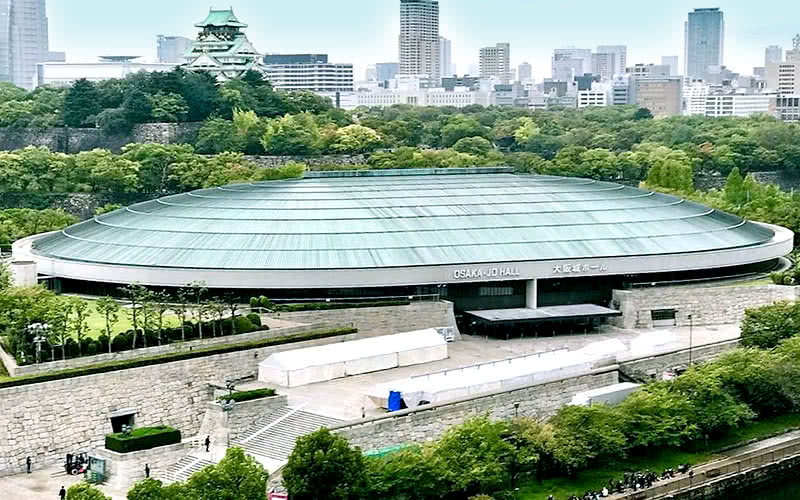 「大阪城ホール」の画像検索結果